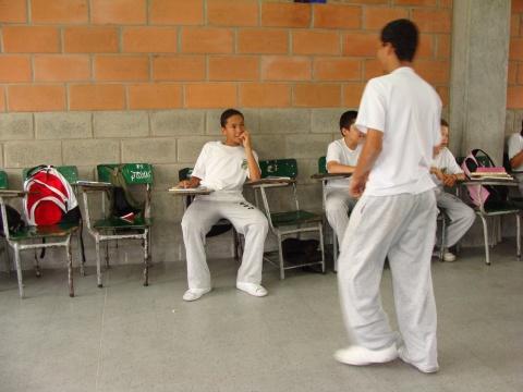En un colegio de Itagüí